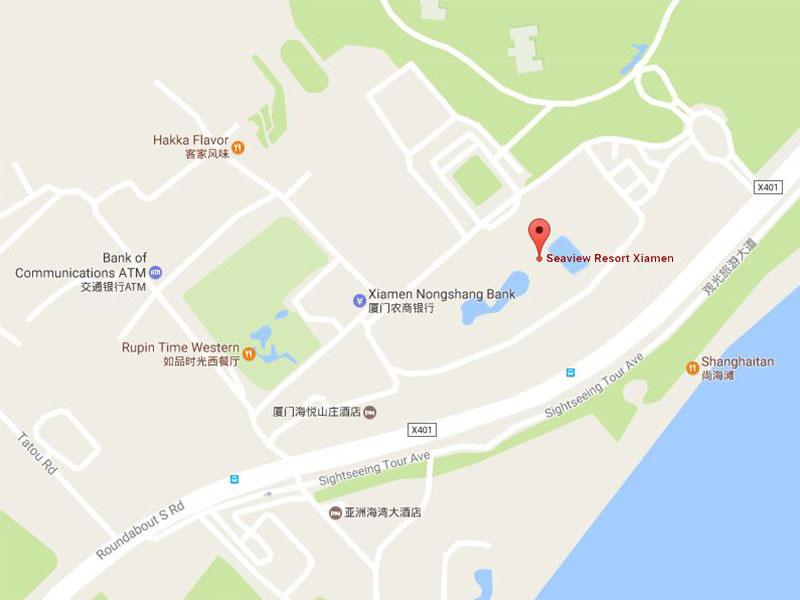 Xiamen China Map.Angsana Spa Seaview Xiamen In China Xiamen Fujian Supreme Spa